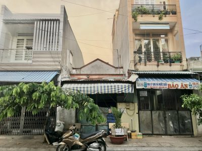 Bán nhà mặt tiền Lê Văn Qưới